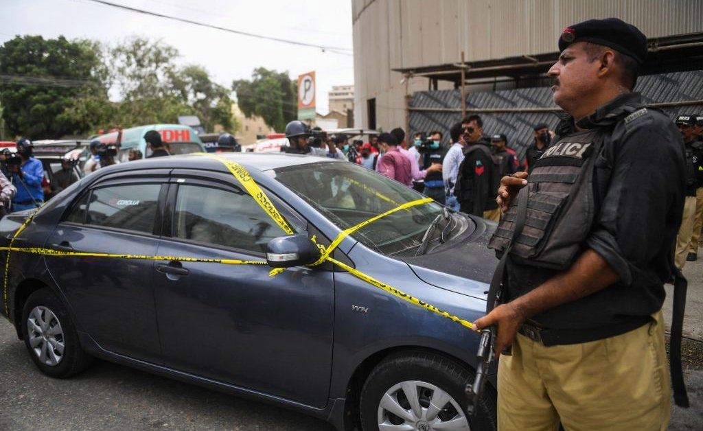 Gunmen Attack Stock Exchange in Karachi, Pakistan