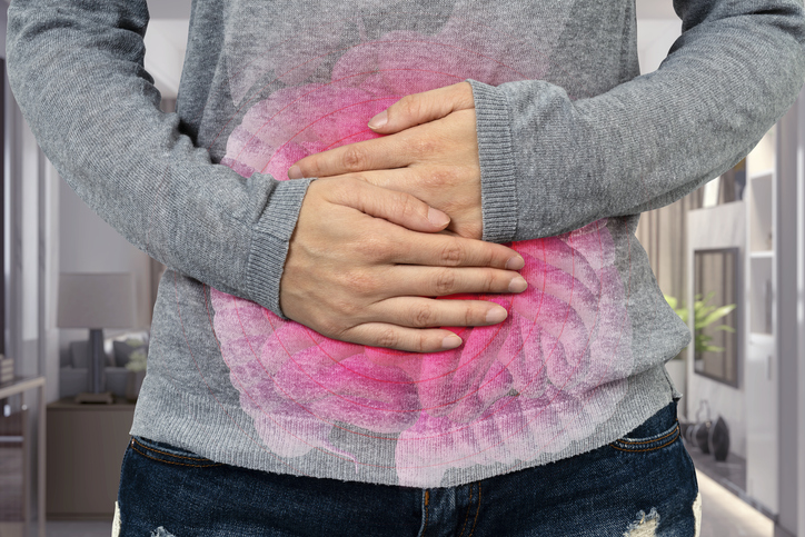 woman with ibs