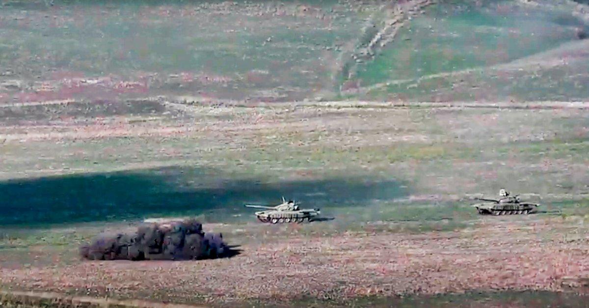 Fighting Erupts Between Armenia and Azerbaijan Over Disputed Region