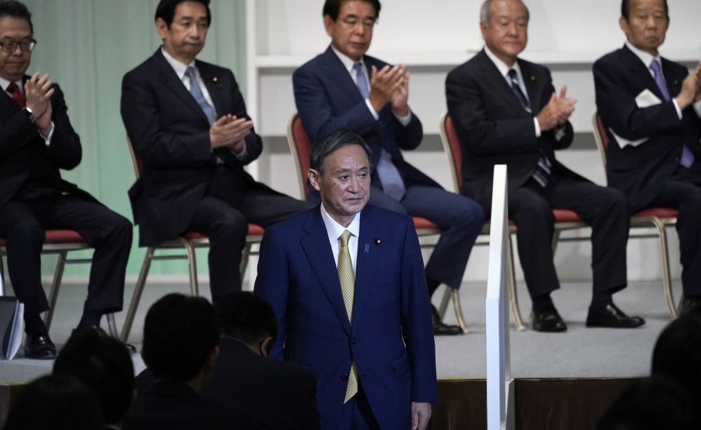 Yoshihide Suga Has Been Elected as the New Head of Japan's Ruling Party