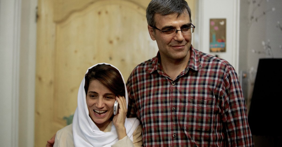 'It's Like We're Hanging in the Air.' Iranian Activist Nasrin's Husband On Her Temporary Release from Prison