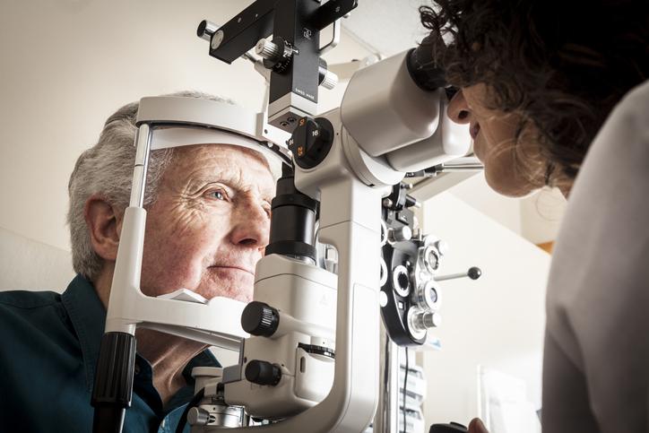 eye exam for macular degeneration