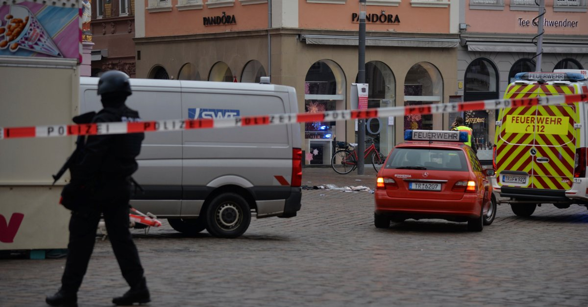 Car Drove Into Pedestrian Zone in Germany, Killing 2 and Injuring 15