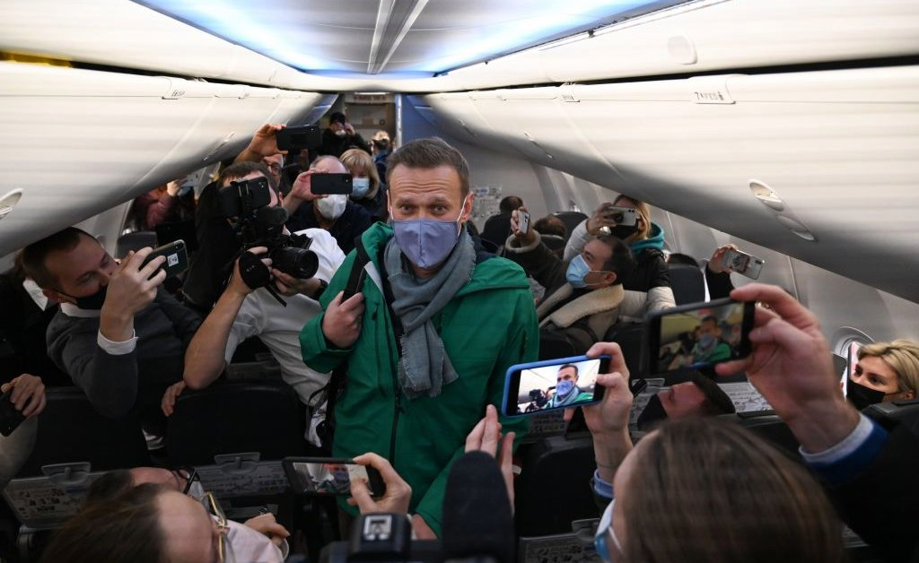 'His Fight Is in Russia.' Why Navalny Flew Home Straight Into Putin's Clutches