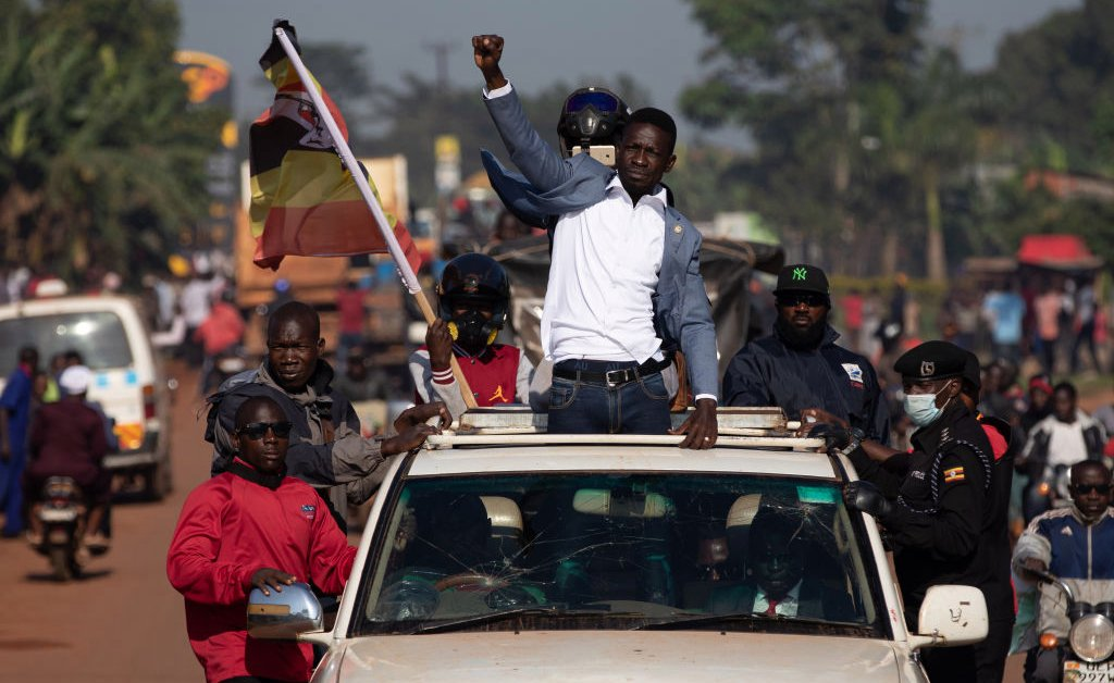 'Museveni Is Scared.' Uganda's Aging Strongman Faces a Challenge from Singer Bobi Wine in an Election Plagued by Unrest
