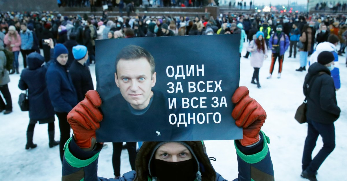 Alexei Navalny's Team Calls for New Protests in Russia for His Release