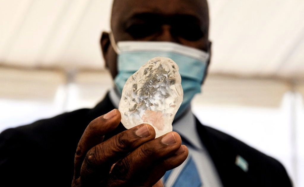 One of the Largest Diamonds in History—Weighing More Than 1,000 Carats—Found in Botswana